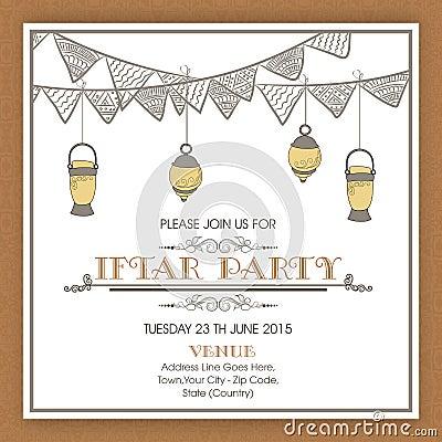 Arabic Invitation Cards for good invitation design