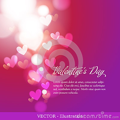 Free Invitation Card Of Valentine`s Day Or Wedding. Royalty Free Stock Photography - 28814437