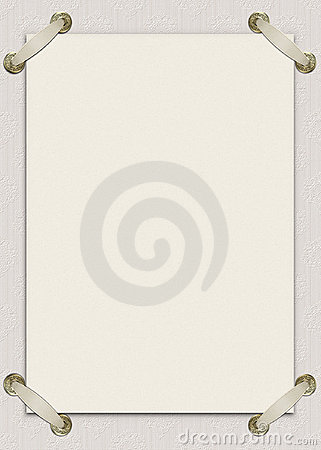 Free Invitation Card With Ribbons Royalty Free Stock Images - 11211289