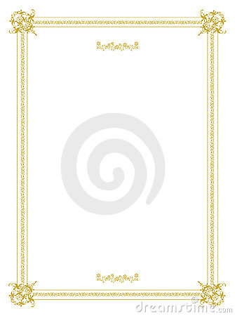 Free Invitation Frame Design Stock Photos - 9030443