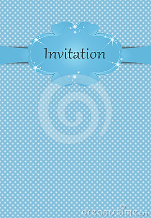 Invitation or greeting card for boys