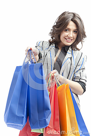 Free Invite To Shopping Royalty Free Stock Image - 25354216