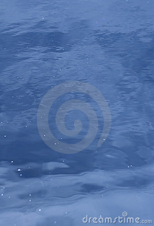 Inviting Blue Ripple Water