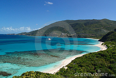 Inviting Cove in the Virgin Islands