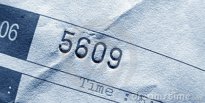 Invoice number