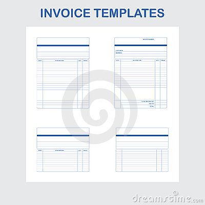 invoice templates royalty free stock images - image: 23001519, Invoice examples