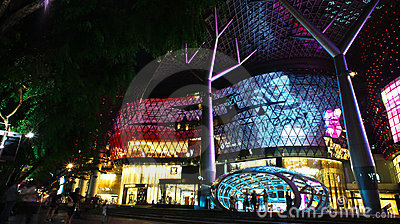 Ion Mall in the evening Editorial Image
