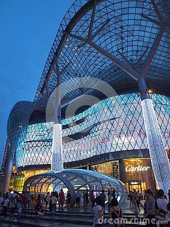 ION Orchard Architecture Editorial Stock Image