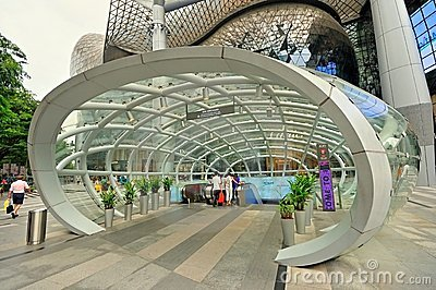 Ion at Orchard, Singapore Editorial Photo