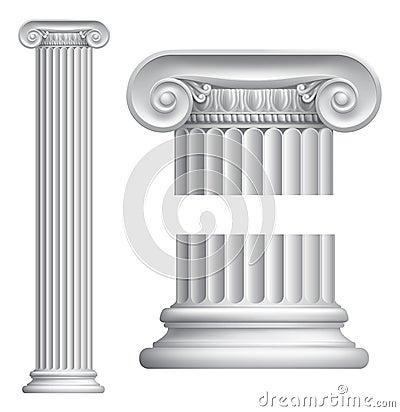 Free Ionic Column Stock Photos - 26154153