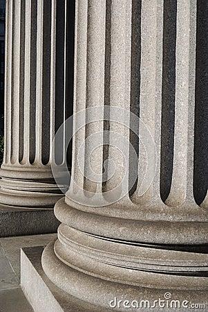 Free Ionic Columns Stock Image - 14590271