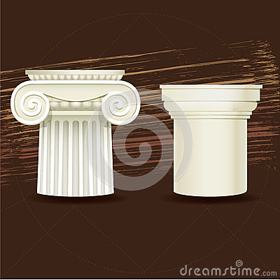 Ionic and Doric architectural order