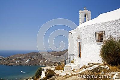 Ios Island Greek Church, Greece