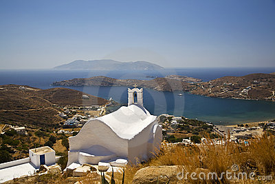 Ios Island Greek Church, Greece