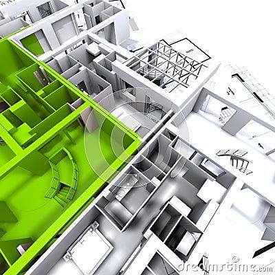 γαλαζοπράσινο πρότυπο δ&iot