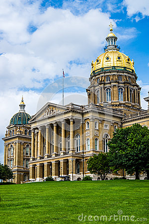 Iowa State Capital building