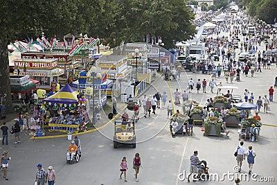 Iowa State Fair Editorial Image