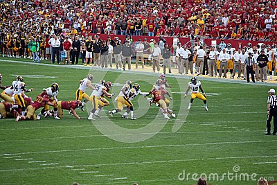Iowa Vs Iowa State College Football Editorial Photo