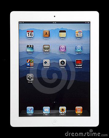 iPad 2 Editorial Stock Photo