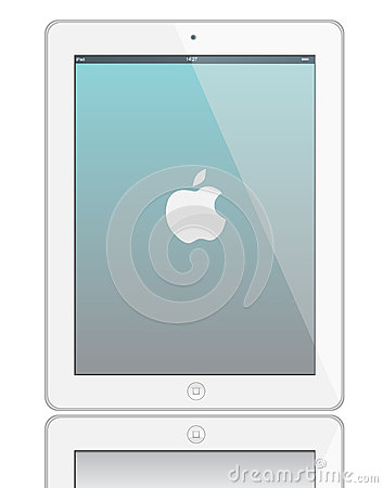 Ipad 3 Editorial Stock Photo