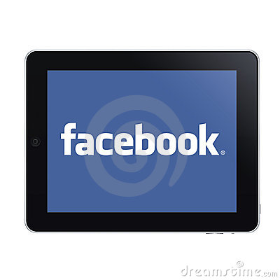 Free Ipad And Facebook Stock Photography - 22417072