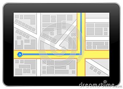 iPad Google Maps