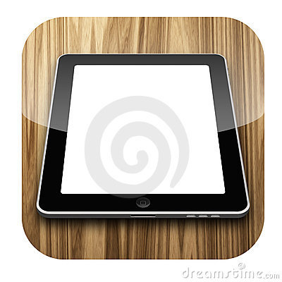 IPad Icon Editorial Photography