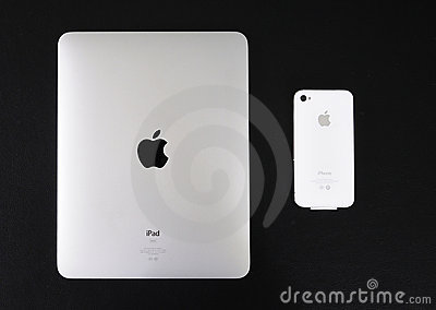 Ipad And  Iphone  Editorial Stock Photo