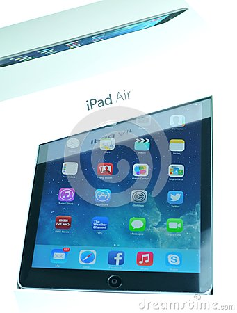 IPad Editorial Stock Photo