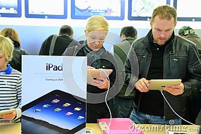 IPad on Sale Editorial Stock Image