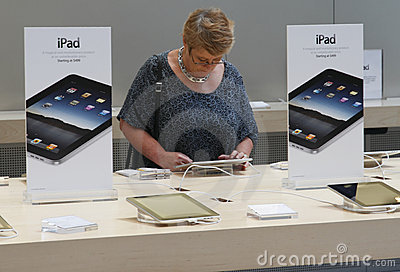 IPad on Sale Editorial Stock Photo