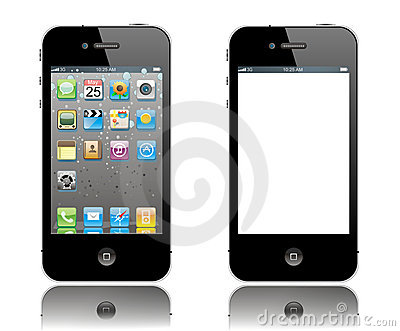 Iphone Editorial Stock Image
