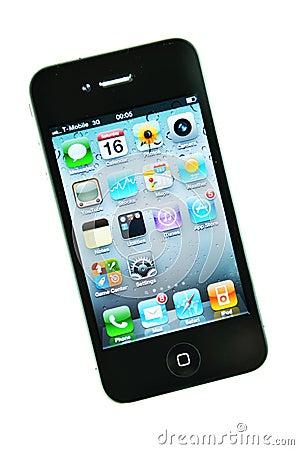 Iphone 4 Editorial Stock Photo