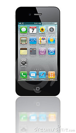Iphone 4s Editorial Stock Image