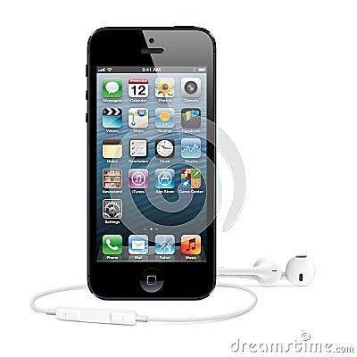 IPhone 5 Editorial Image