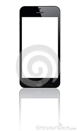 Iphone 5 Editorial Stock Image
