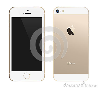 Free Iphone 5s Gold Royalty Free Stock Photo - 37071555