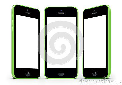 iphone 5c white screen iphone 5c with white screen stock illustration image 14718