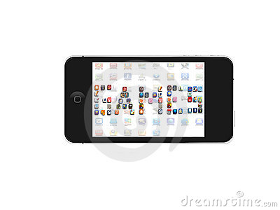 Iphone Games icon Editorial Stock Image