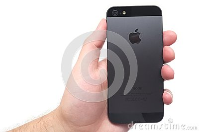 IPhone Editorial Stock Photo