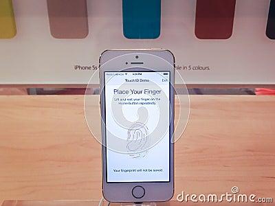 IPhone 5s Editorial Stock Photo