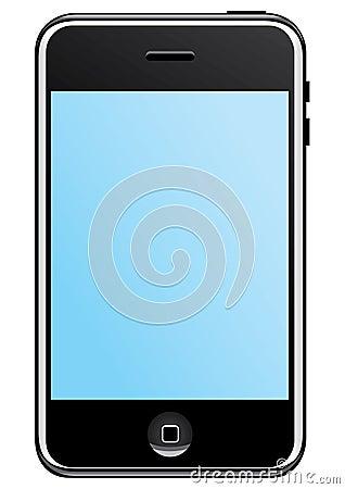 Iphone telecommunications Editorial Stock Photo