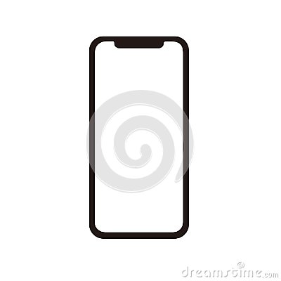 Free Iphone X Icon For Vector Stock Photos - 122250953