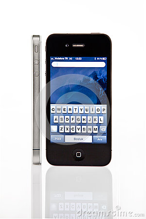 Iphone4 Editorial Stock Image