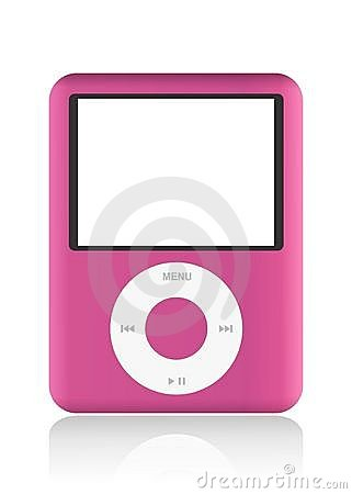 IPod isolated Editorial Stock Image