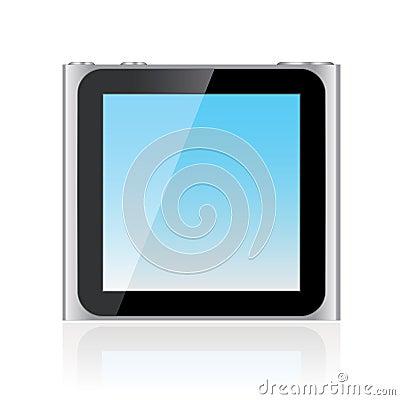 Ipod Nano 6th Generation EPS Editorial Image