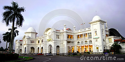 The Ipoh Railway Station Editorial Stock Image