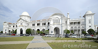 Ipoh Railway Station Editorial Image