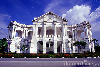 Ipoh Town Hall Editorial Stock Image