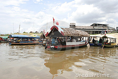 Iquitos Port, Peru, South America Editorial Photography